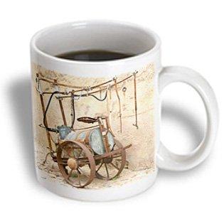 Danita Delimont - Antiques - Antique Cart, Chateau De Montpezat, Pezenas, France - Eu09 Pka2391 - Per Karlsson - 11Oz Mug (Mug_81656_1)