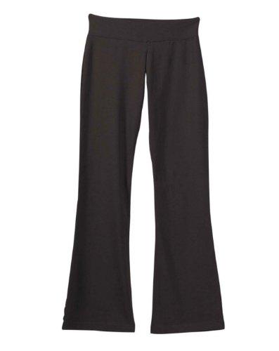 Bella 810 Ladies Cotton/Spandex Yoga Pant - Chocolate - Xl front-915226