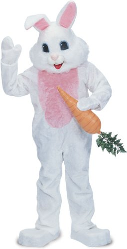 Rubie's Costume Premium Rabbit Mascot Costume White, White, One Size