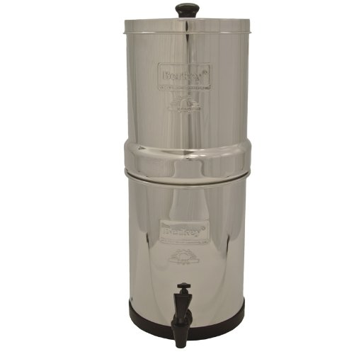 Imperial Berkey Water Filter With 2 Black And 2 Pf2 Fluoride Filters