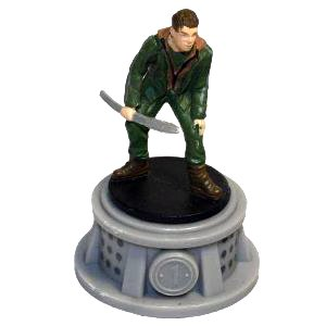 The Hunger Games Figurines - District 1 Tribute Male Marvel