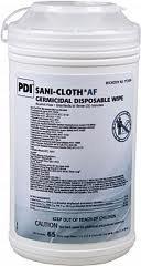 """Wipe, Germ, Sanicloth Af3, 6X6.75"""",160Ct Cs"""