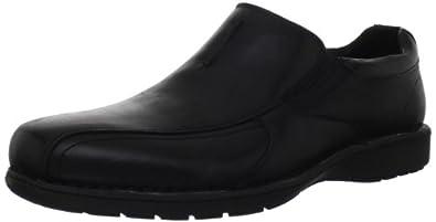 (狂降)Clarks Men's Clarks Sektor Twin Gore 其乐男士真皮一脚蹬休闲鞋69.28刀2色