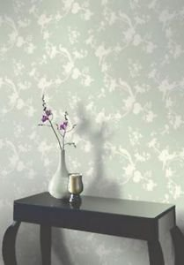 Opera Chinoise Shadow Wallpaper - Sage from New A-Brend