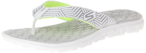 Skechers Womens on-the-GO Sunny Clogs And Mules White Weià (WSL) Size: 36