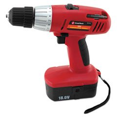 "-- Great Neck 18 Volt 2 Speed Cordless Drill, 3/8"" Keyless Chuck"