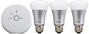 Philips 431643 Hue Personal Wireless Lighting, Starter Pack, Frustration Free
