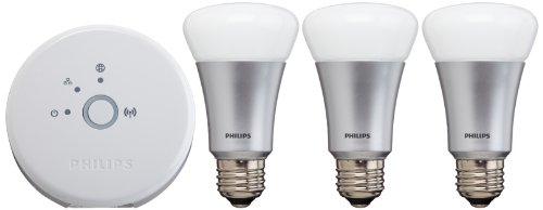 Philips 431643 Hue Personal Wireless Lighting, Starter Pack