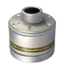 Dräger X-plore Gasfilter 940 A2B2E2K1 (EN 14387) Qualitätsfilter für Masken mit Rundgewinde RD40 (EN 148-1)