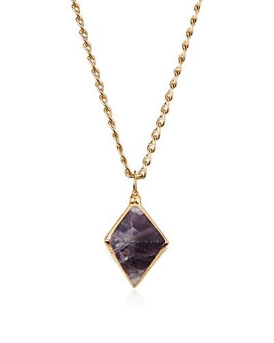 Cristina V. 24K Gold-Plated Pendant Necklace