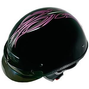 Vega XTS Pinstripe Helmet - Medium/Pink Pinstripe