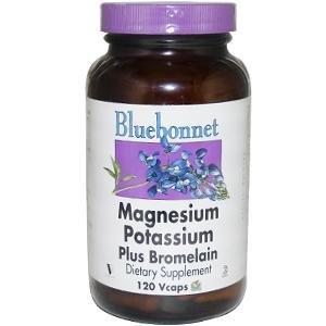 Magnesium & Potassium Plus Bromelain - 120 - Capsule