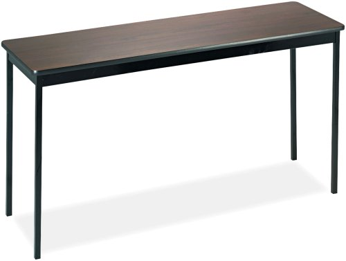 Utility Table, Rectangular, 60w x 18d x 30h, Walnut, Sold as One Each