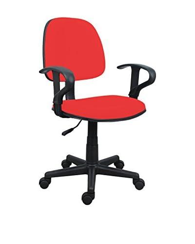 Home Office Silla De Oficina Rojo