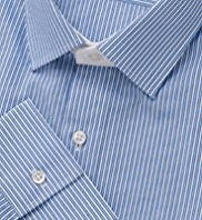 Autograph Pure Cotton Twin Striped Shirt