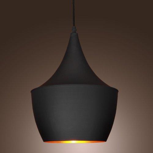 Lightinthebox® 60W Pendant Light In Black Shade Modern/Comtemporary Pendant Light Fit For Living Room, Bedroom, Dining Room