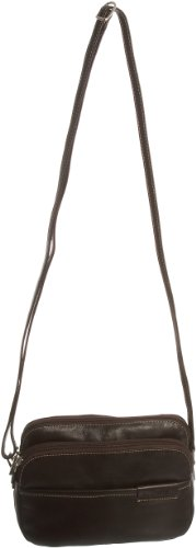 Jane Shilton Womens Willow Leather Cross Body Bag Brown