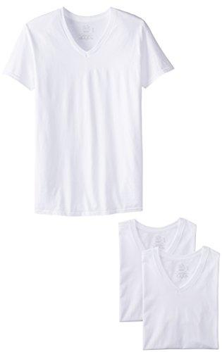 Fruit of the Loom Men'sV-Neck T-Shirt(Pack of 3)
