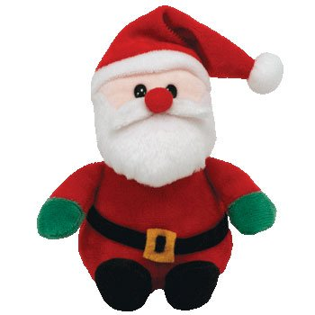 TY Jingle Beanie Baby - SANTA (2008) - 1