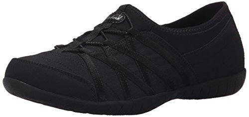 Skechers Sport Women's All In Fashion Sneaker, Black, 9 M US