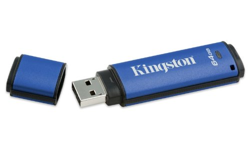 Kingston Digital Datatraveler Vault Privacy (Dtvp/64Gb) front-841393