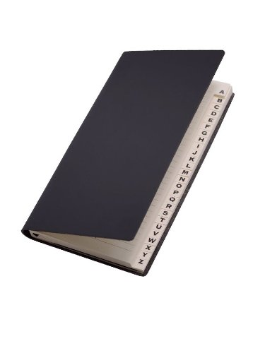 Paperthinks Black Recycled Leather Long Address Book, 3 x 6.5-inches ,PT94119 presidential nominee will address a gathering