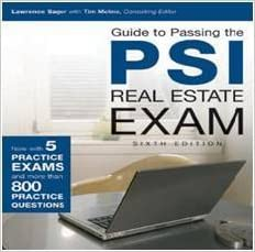 how to pass psi real estate exam