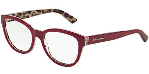 dolce-gabbana-fur-frau-3209-opal-bordeaux-leopard-kunststoffgestell-brillen-53mm
