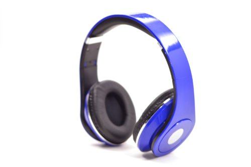 Flotera Over The Ear Adjustable Blue Headphone 3.5Mm Ipod Mp3 With