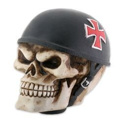 Iron Cross Biker Skull Skeleton Auto Car Gear Shift Shifter Knob Handle (Gear Shifter Knobs For Girls compare prices)