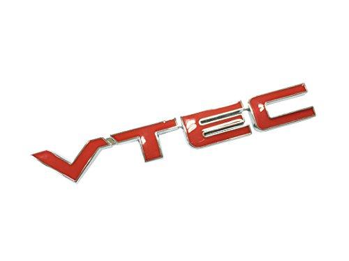 Dian Bin- VTEC Red Metal Sticker Car Auto Vehicle-Logo badge Emblem for Honda Available (Vtec Honda Sticker compare prices)