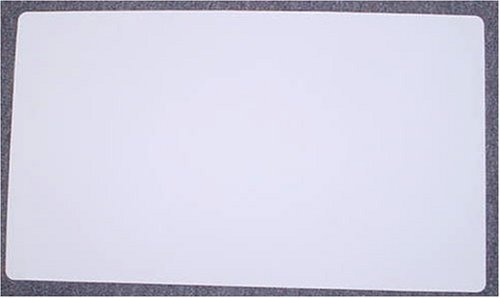 White Yugioh Magic the Gathering Playmat Play Mat Game PAD MAT 1/16 INCH Thick - 1