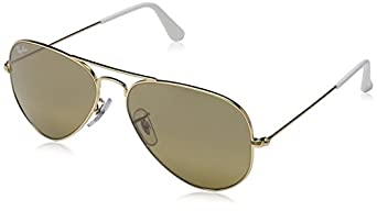 Ray-Ban Aviator Large Metal Sunglasses RB3025 001/3K-5514 - Arista Cry. Brown RB3025-001-3K-55