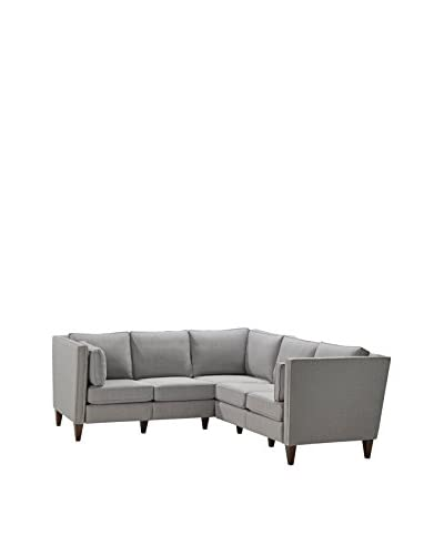 Homeware Drake 2 Corner and Sectional, Silver