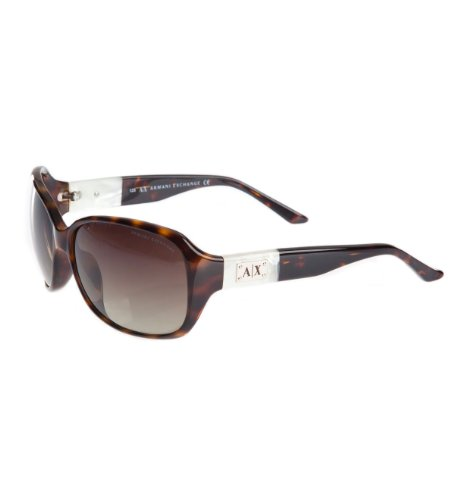 Armani Exchange Round Pearl Trim Sunglasses