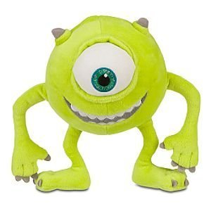 Disney Mike Wazowski Plush Toy -- 7''