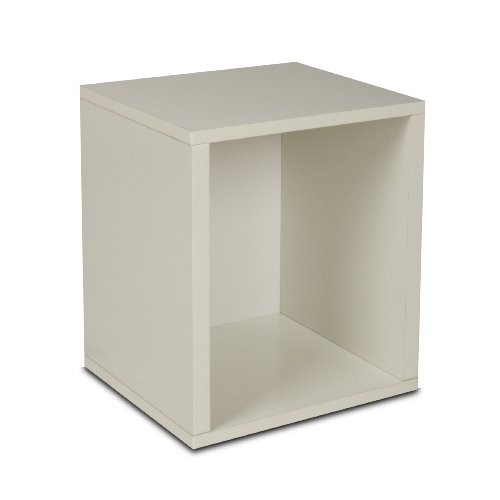 Way Basics Eco Modern Storage Cube Plus, White