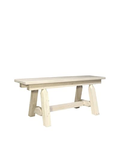Montana Woodworks Homestead 45 Plank Style Bench As You See