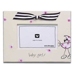 Penny Laine Papers Fabric Frame - Baby Girl! Pink Carriage front-715704