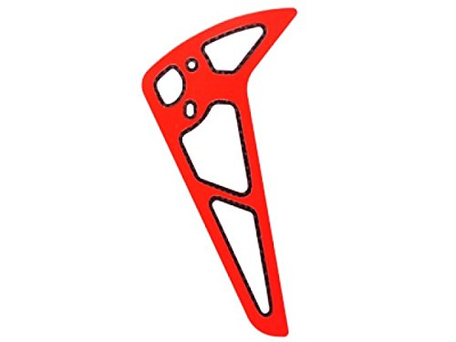 Microheli Red Carbon Fiber Vertical Fin - BLADE 500X/3D (Blade 500x Helicopter compare prices)