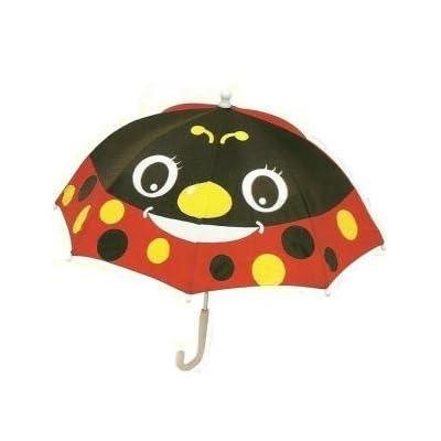 Fun Ladybird Brolly Pals Children's Animal Umbrella Red & Black