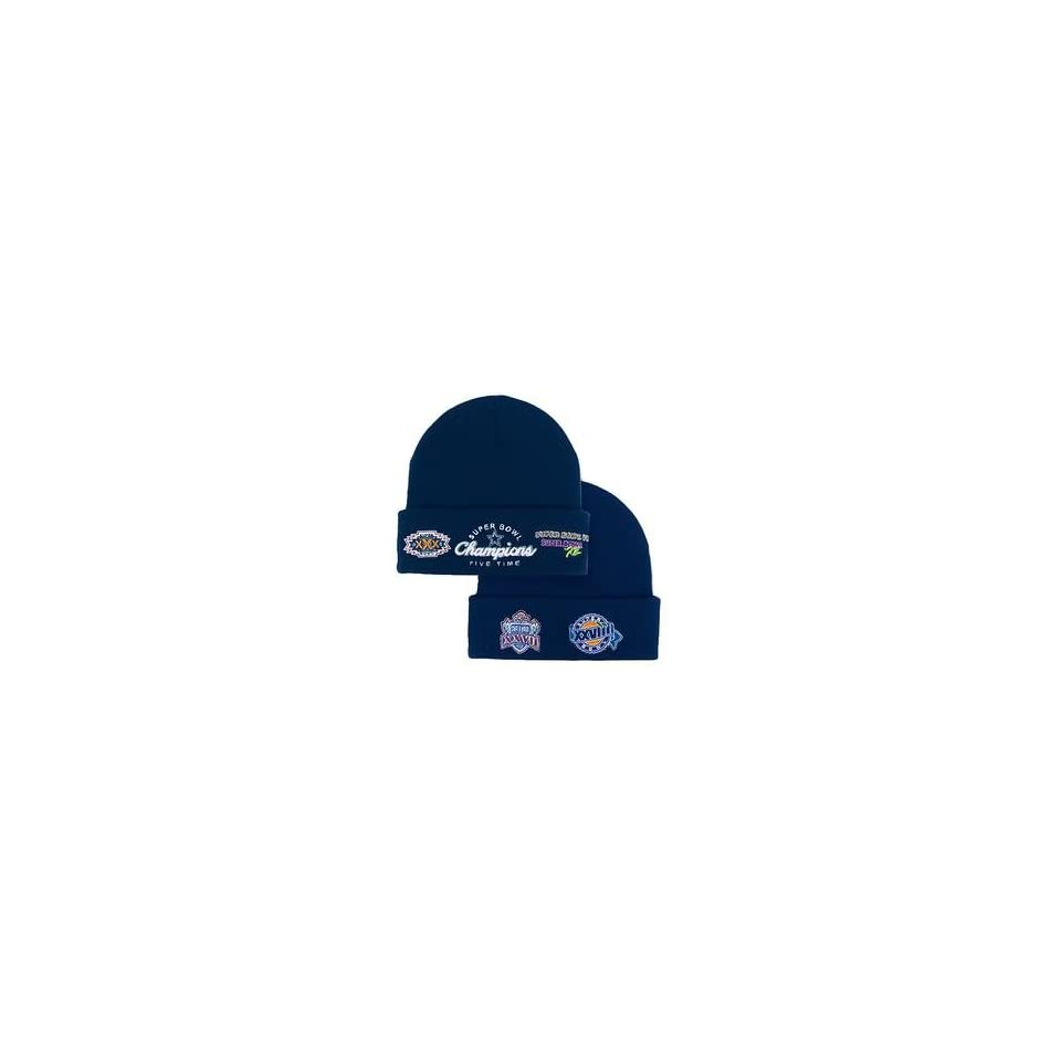 11f8245448e96a Reebok Dallas Cowboys 5 Time Super Bowl Champions Commemorative Knit Hat  Dallas Cowboys One Fits All