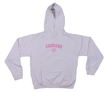 Jacksonville Jaguars NFL Youth Fleece Hoodie, White by Reebok