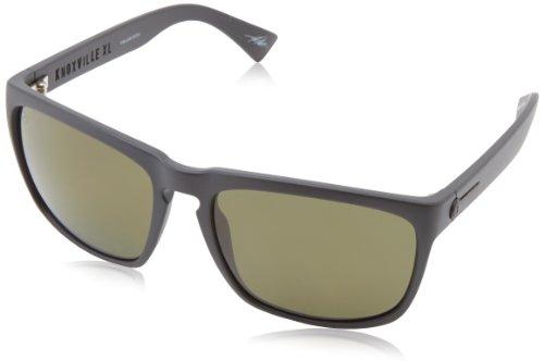 Electric Knoxville Xl Wayfarer Polarized Sunglasses,Matte Black,164 Mm