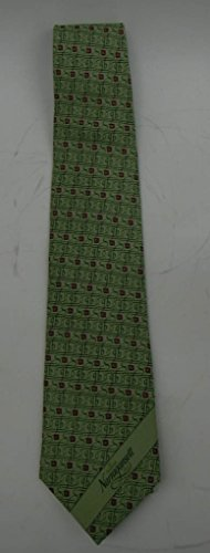 Narragansett Beer GB-motif mint green necktie in original sleeve