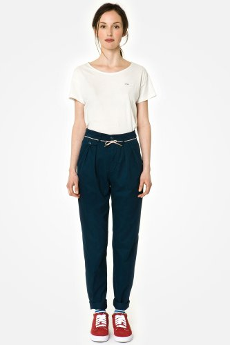 L!VE Relaxed Cropped Gabardine Pant