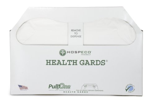 Health Gards PullOne Toilet Seat Covers HG3000B Count of 3000, (Pack of 5) (Health Cover compare prices)