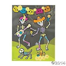 Fun Express Day of the Dead Sticker Scene - 1