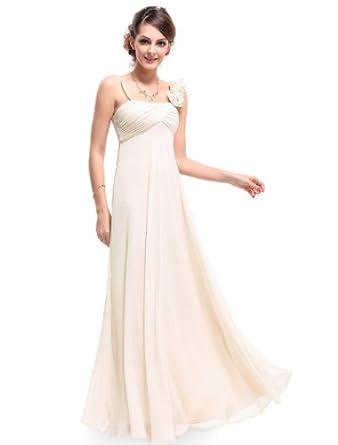 HE09766BG06, Beige, 4US, Ever Pretty Evening Dresses Long Formal 09766