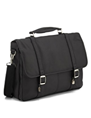 Double Buckle Briefcase